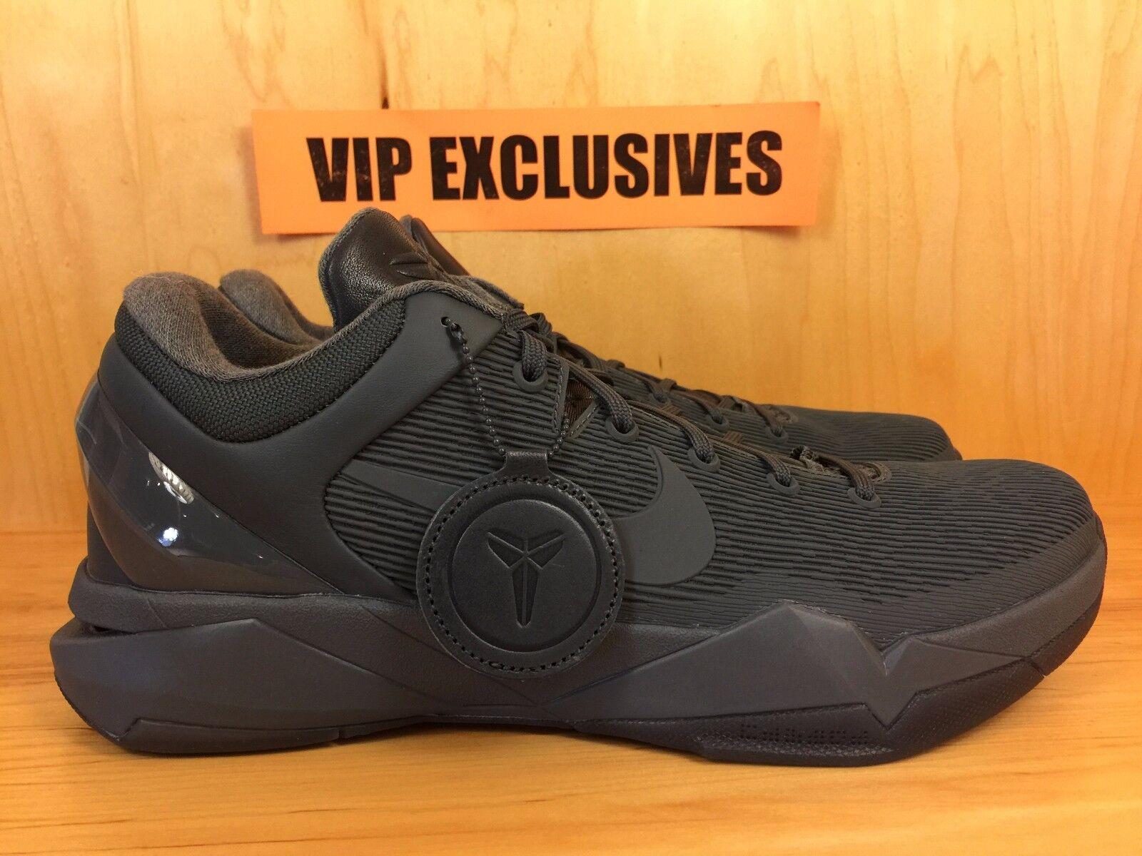 Nike Zoom Kobe VII 7 FTB Fade to Black Blue Fox Black Mamba Pack 869460-442