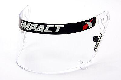 Impact Racing 19399904 Anti-Fog Hi-Def Amber Replacement Helmet Shield