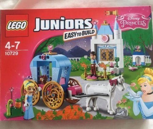 Lego Juniors 10729  Cenicienta's Carro. construcción Lego Juguete Juguete Juguete Para Niños 32fe38