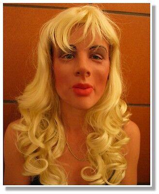 Frauen Maske Frauengesicht aus Latex Crossdresser Gummi MaskeFrauenmaske Diva