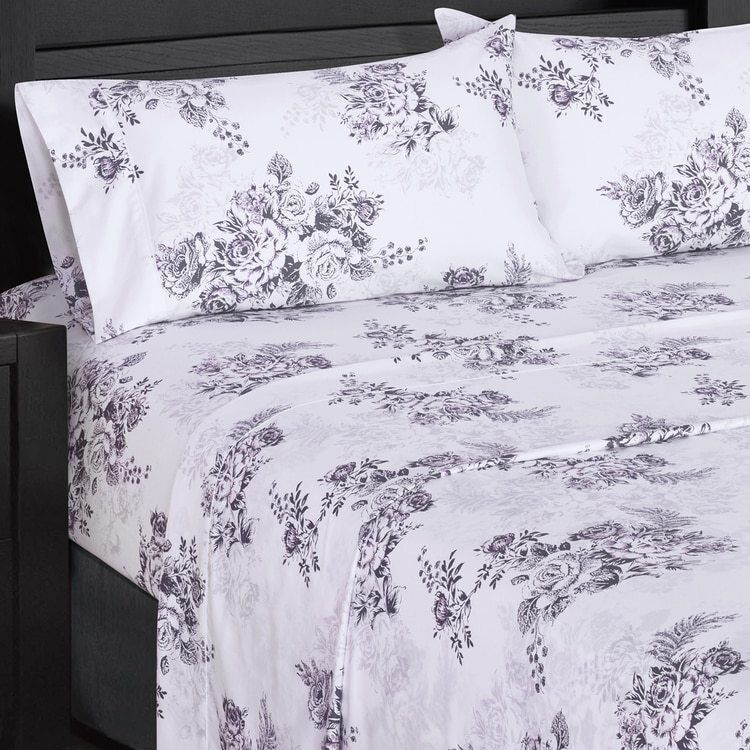 Beautiful 300 Thread Count Cotton Bally Bed Sheet Set