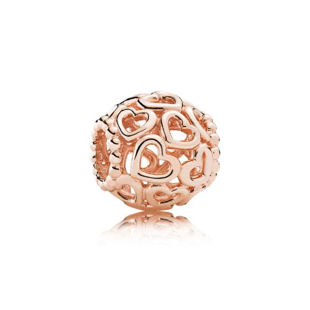 Pandora Rose 780964 Charm Herzstrudel °Neu°