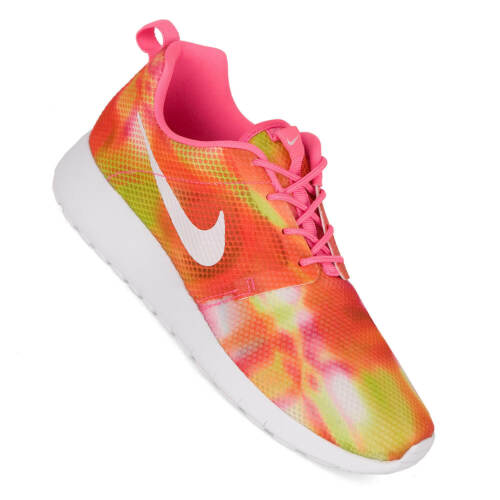 Flight Weight Ladies Childrens Shoes Pink Pow 38 GS Nike Roshe Run