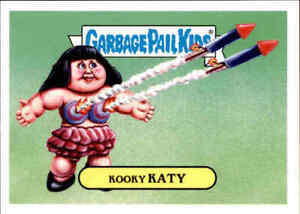 2017 Garbage Pail Kids Empty-V Awards Only 92 Sets Produced Extremely Katy Perry