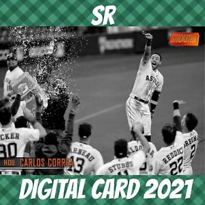 Topps Bunt 21 Carlos Correa Stadium Club Orange Base S/2 2021 Digital Card