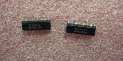 SN74LS379N TI 16 PIN DIP  FLIP-FLOP NOS 1 TUBE 25 QTY
