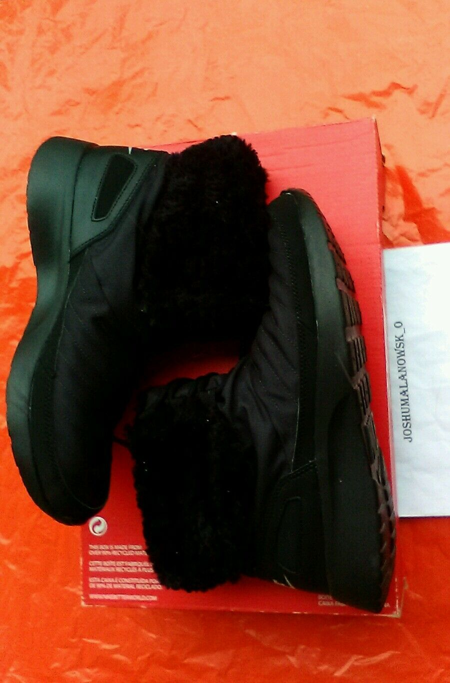 NEW IN BOX NIKE WOMEN'S KAISHI WINTER HIGH COLD WEATHER FUR BOOTS SHOES SIZE 6.5