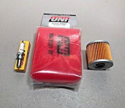 KAWASAKI 99-02 KLF 220  Bayou    KLF220 Tune Up Kit  For Stock Air Box