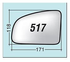 Vetro specchio retrovisore Opel Meriva fino al 2009 destro 517D