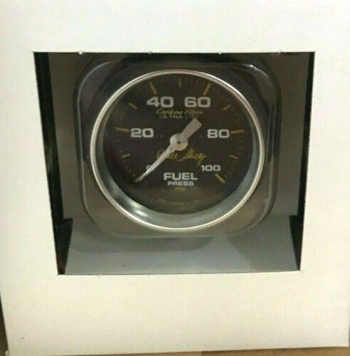 "Carroll Shelby Signature Autometer 2 1//16/"" Fuel Pressure Gauge Kit"