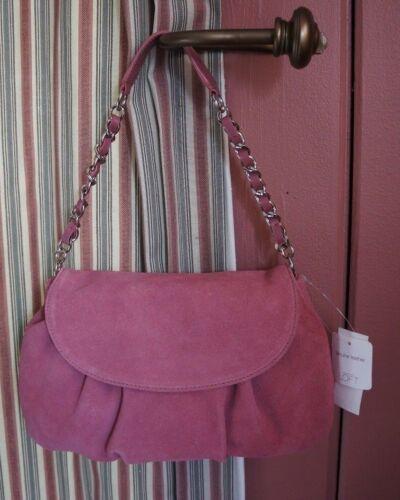 Ann Loft Taylor Nwt bolso rosa gamuza de x0qSWadwv