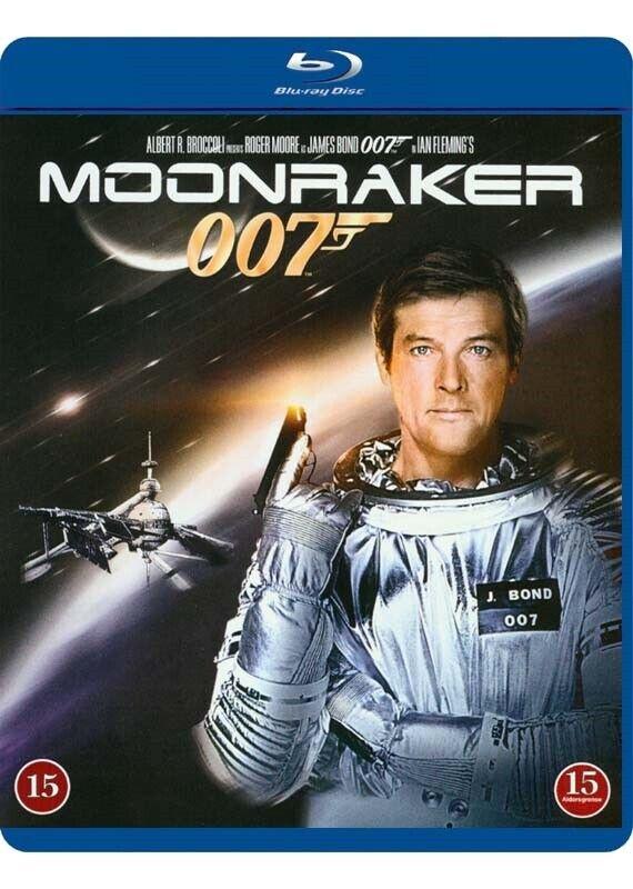 Moonraker, instruktør Lewis Gilbert, Blu-ray