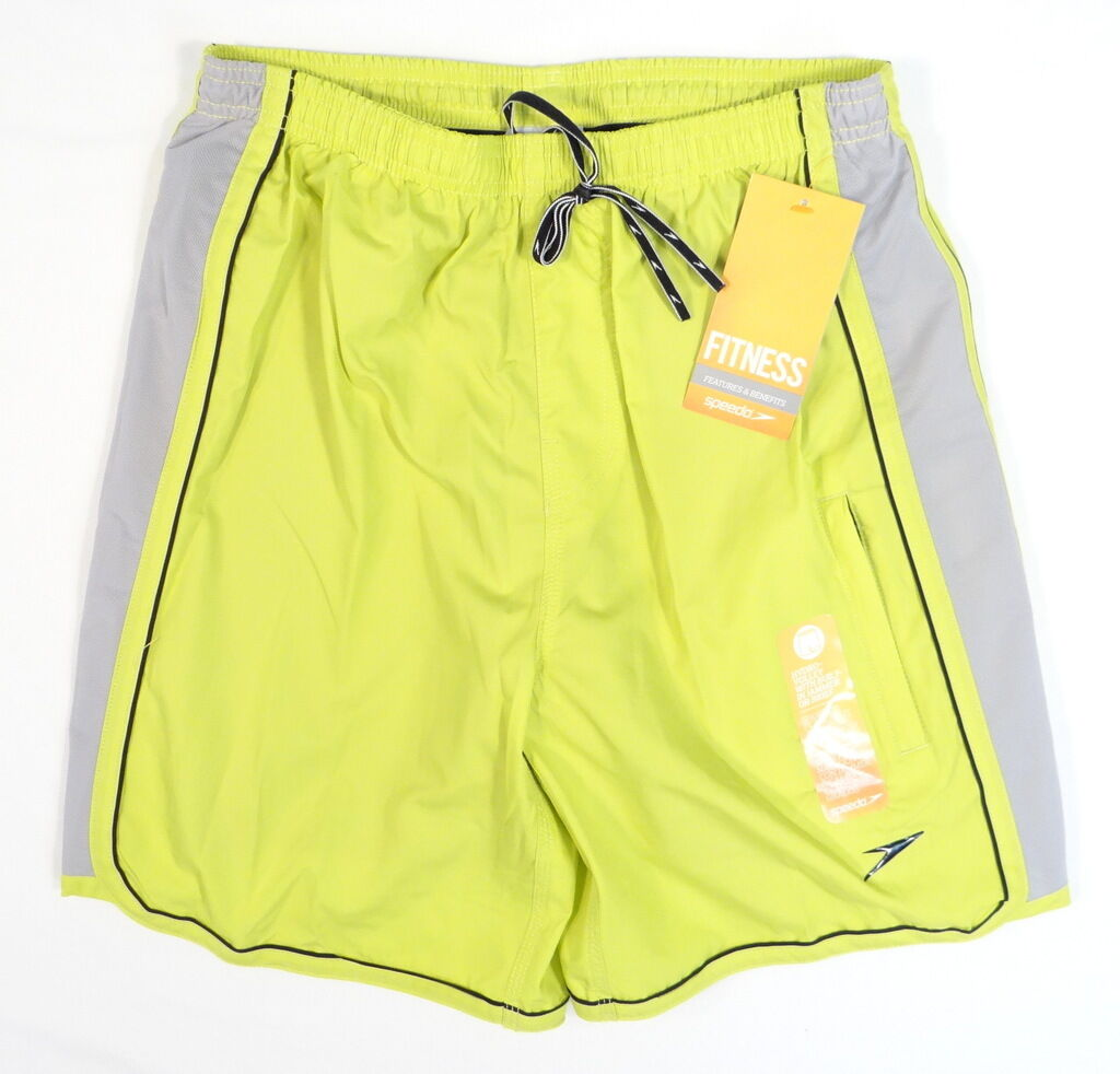 Speedo Hydovolley Citrine Shorts Swim Shorts with Compression Jammer Mens NWT
