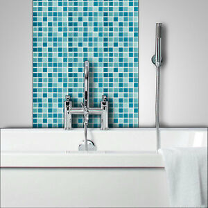 Groovy Details About Blue Glass Mosaic Tiles Bathrooms Kitchens Wall Floor Best Price Quality 4C 122 Home Interior And Landscaping Pimpapssignezvosmurscom