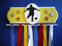 Soccer Male Sports Medal Display Hanger