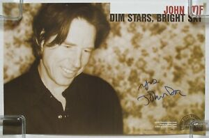 JOHN-DOE-Dim-Stars-Bright-Sky-2002-SIGNED-PROMO-Poster-AUTOGRAPHED-X-The-Band