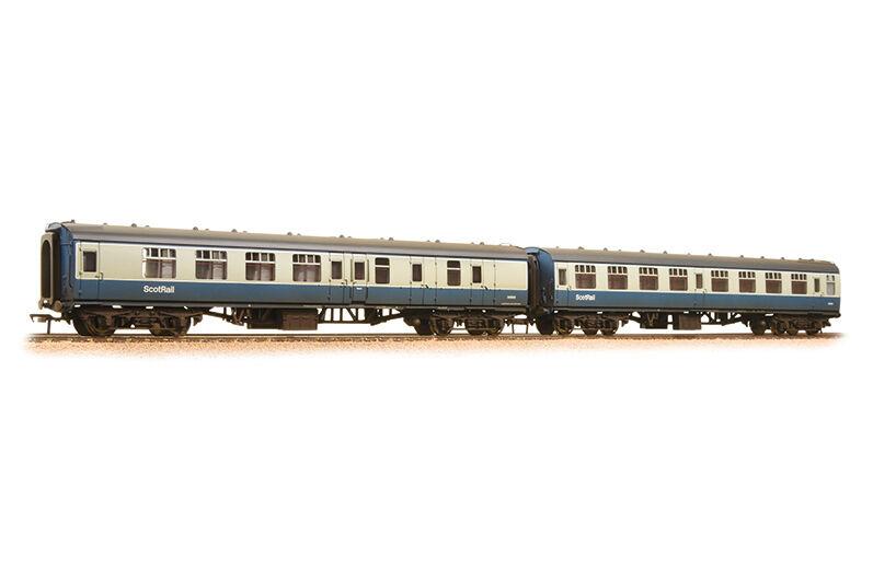 Bachmann 39-004 personenwagenset mk1 br scotrail envejecido pista 00