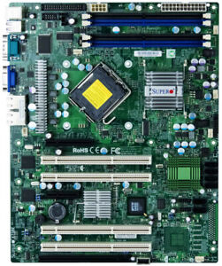 Supermicro X7SBE S.775 DDR2 Pcie