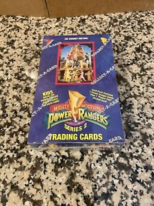 1994 Mighty Morphin Power Rangers Series 2 Trading Card Box New Sealed 36 count
