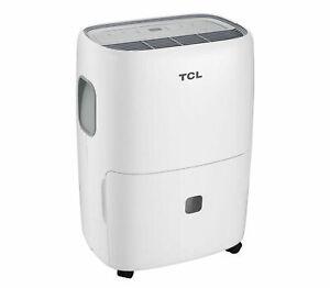 TCL-50-Pint-Portable-Dehumidifier-w-Auto-Defrost-White