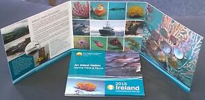 Ierland Ireland 2015 UNC set An Island Nation, Marine Flora & Fauna