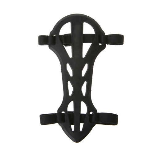 1X Soft Rubber Arm Guard Protective Gear 2 Strap For Archery Shooting Children