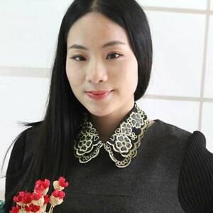 Women-False-Collar-Detachable-Half-Shirt-Blouse-Necklace-Collar-Gift-JA