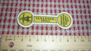 1950s-GERMAN-GERMANY-BEER-BIER-LABEL-BRAUEREI-SCHLOSSBERG-DACHAU-HELL