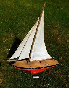 Tirot - Bel Ancien Grand Voilier De Bassin Modele 503 #.2
