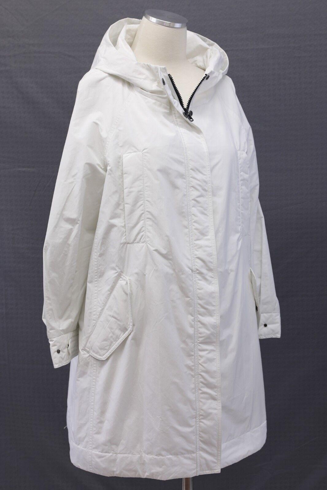 NWT  3995 Bspringaaello Cucinelli Kvinnors Hood Overcoat Storlek 42   M A186