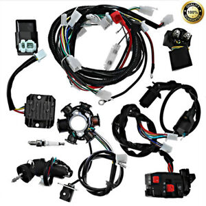 go kart gy6 wiring harness electric wiring harness wire magneto stator for go kart gy6 125cc  magneto stator for go kart gy6 125cc