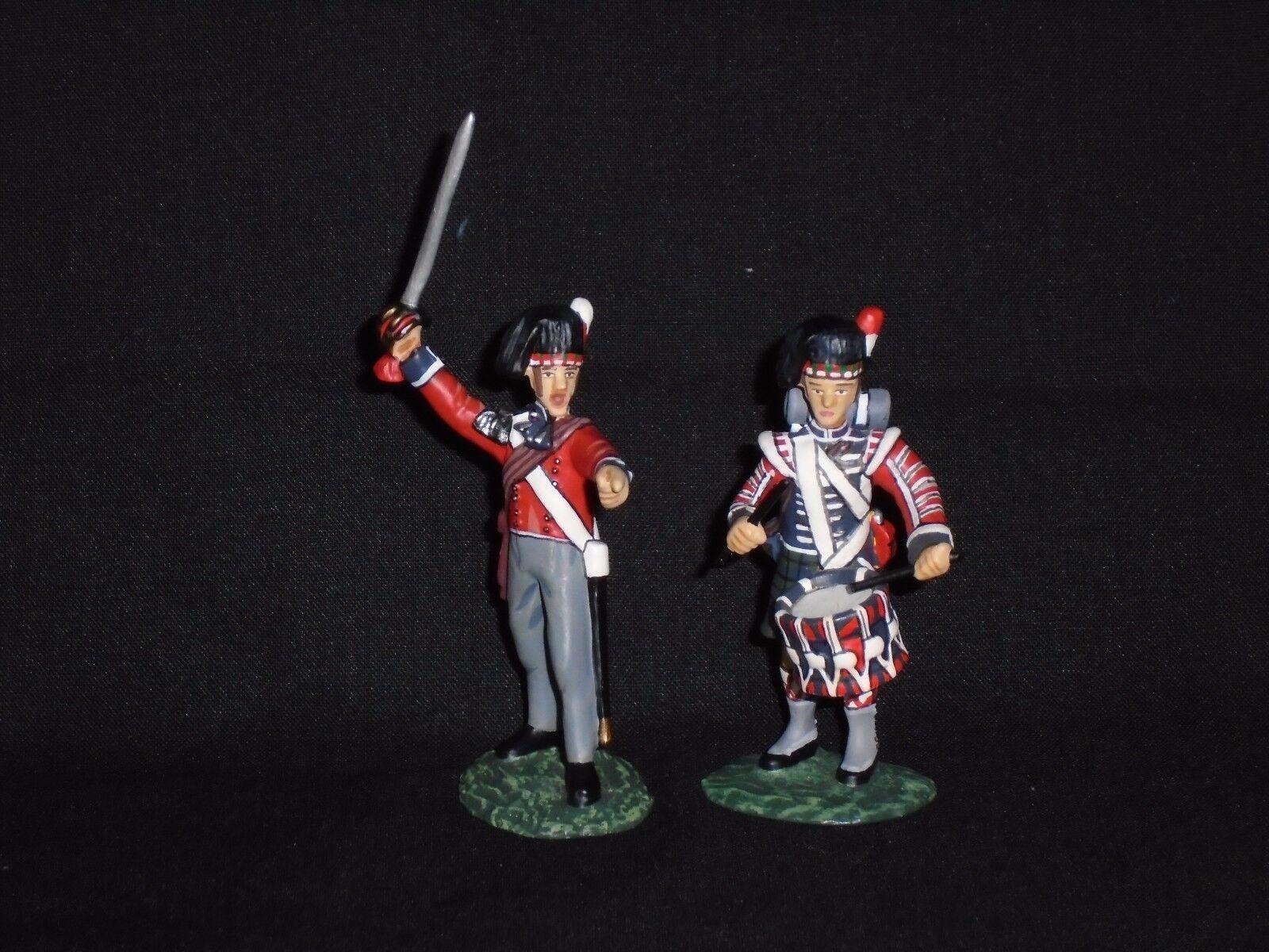 FRONTLINE FIGURES N.B.W.7.BRITISH,ROYAL HIGHLANDERS,OFFICER AND DRUMMER.