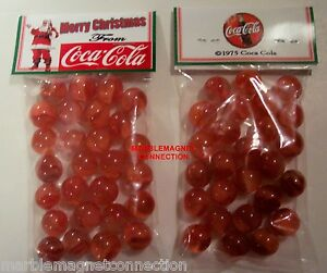 2 Bags Of Merry Christmas From Coca Cola Advertising Promo