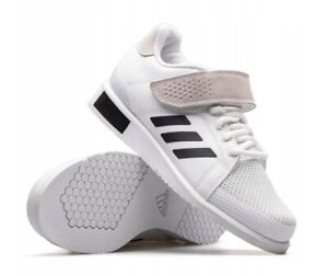 Details about adidas Power Perfect 3 BD7158 Weightlifting Shoes CrossFit Bodybuilding White