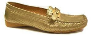 Loadmoc-Ale-Gold-Leather-Stuart-Weitzman-Loafers