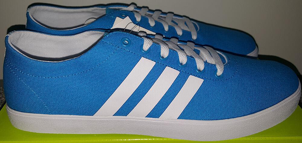 Adidas Easy Vulc Vs, blau/weiß, gr. 45 1/3 /UK10,5