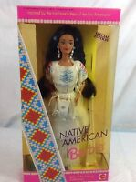 Mattel 1992 Dolls of the World Collection Native American Barbie SPECIAL EDITION Toys