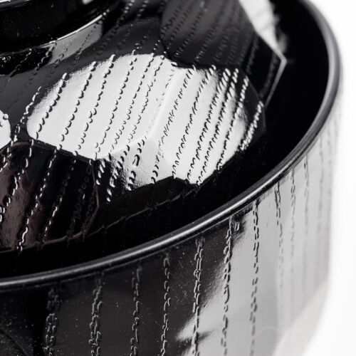 Black Lacquer Japanese Miso Soup Bowl and Lid