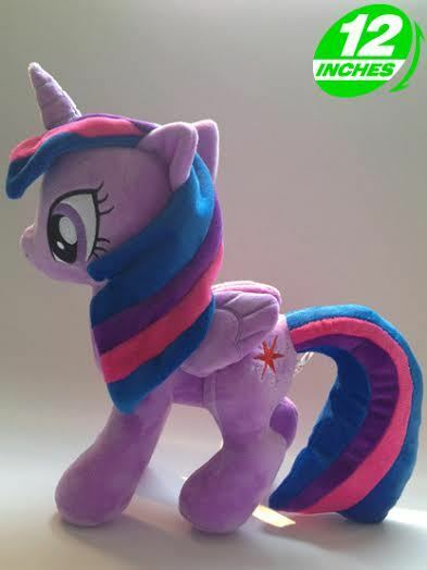 My Little Pony G4 Princess TWILIGHT SPARKLE  Plush new design