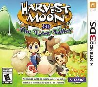 NEW Harvest Moon 3D: The Lost Valley (Nintendo 3DS, 2014)