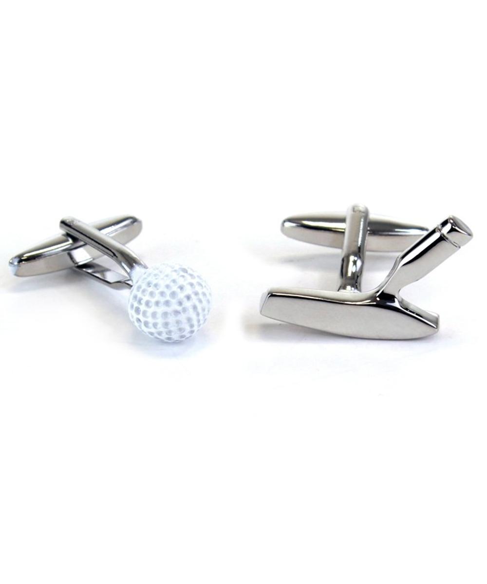 Golfball & Putter Manschettenknöpfe