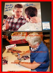 Back-To-The-Future-Tom-Wilson-Signed-w-Quote-11x14-Picture-Beckett-PSA