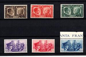 1941-REGNO-D-039-ITALIA-FRATELLANZA-D-039-ARMI-ITALO-TEDESCO-MNH-6-V-NUOVI-MUSSOLINI