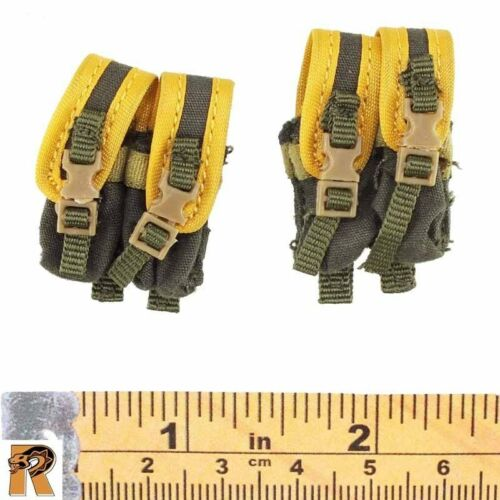 SMG Ammo Pouches 1//6 Scale Very Cool Action Figures Double Agent Zero