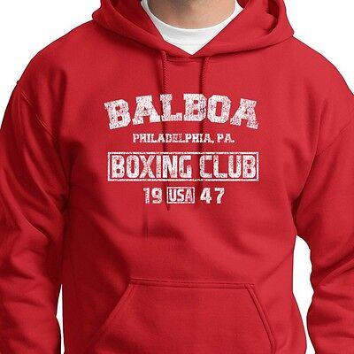 Rocky Movie Balboa American Flag Licensed Adult Sweatshirt Hoodie