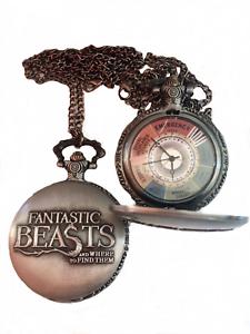 Fantastic Beasts Collana Orologio Animali Fantastici Newt Scamander Harry Potter