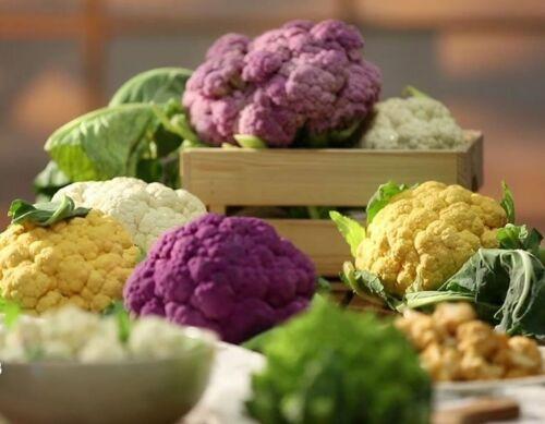 Seeds Cauliflower Cabbage Mix Vegetable for Planting Organic Heirloom Ukraine