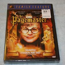DVD The Pagemaster NEW!!