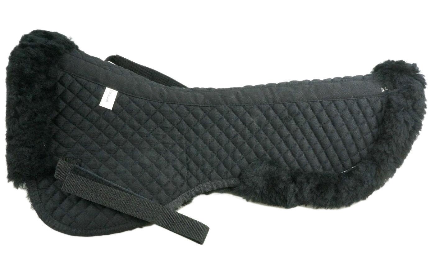 Genuine Merino Classical Superb Sheepskin half Saddle  Pad for pony size  in stock