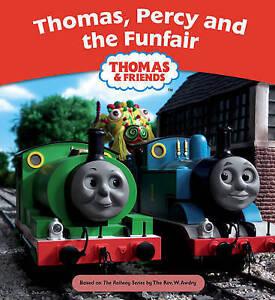 THOMAS-THE-TANK-ENGINE-THOMAS-PERCY-amp-THE-FUNFAIR-PB-STORY-BOOK